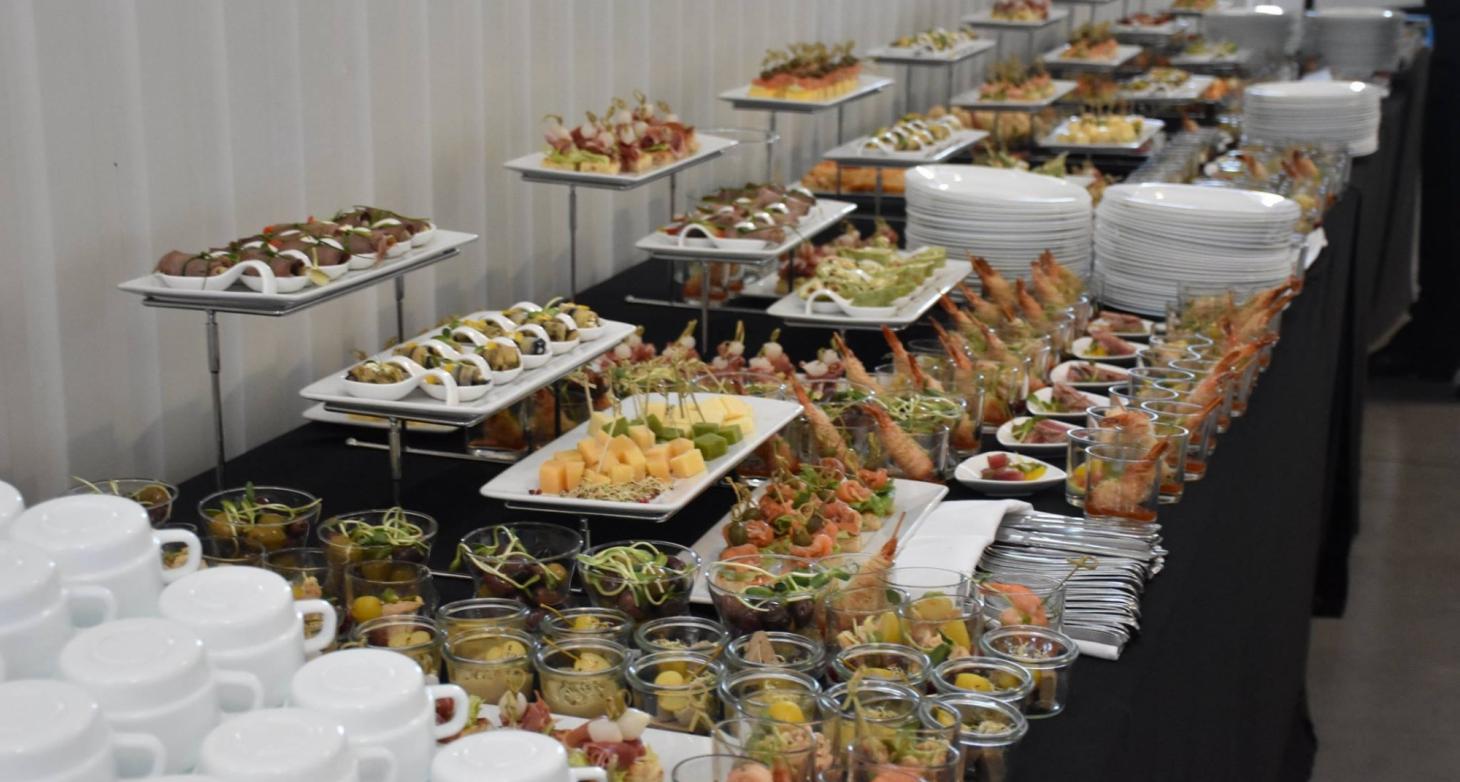 Event Catering KMT salono atidarymas