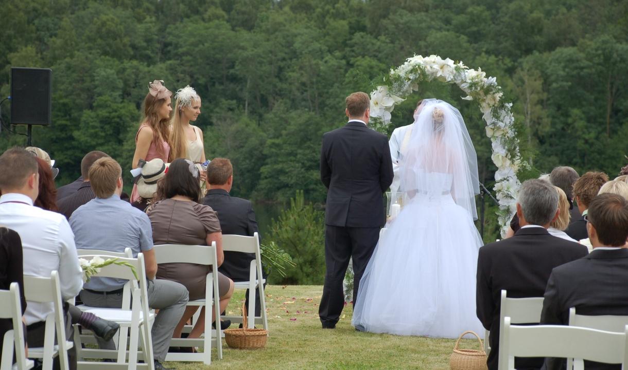 Vestuvės Karvio dvare